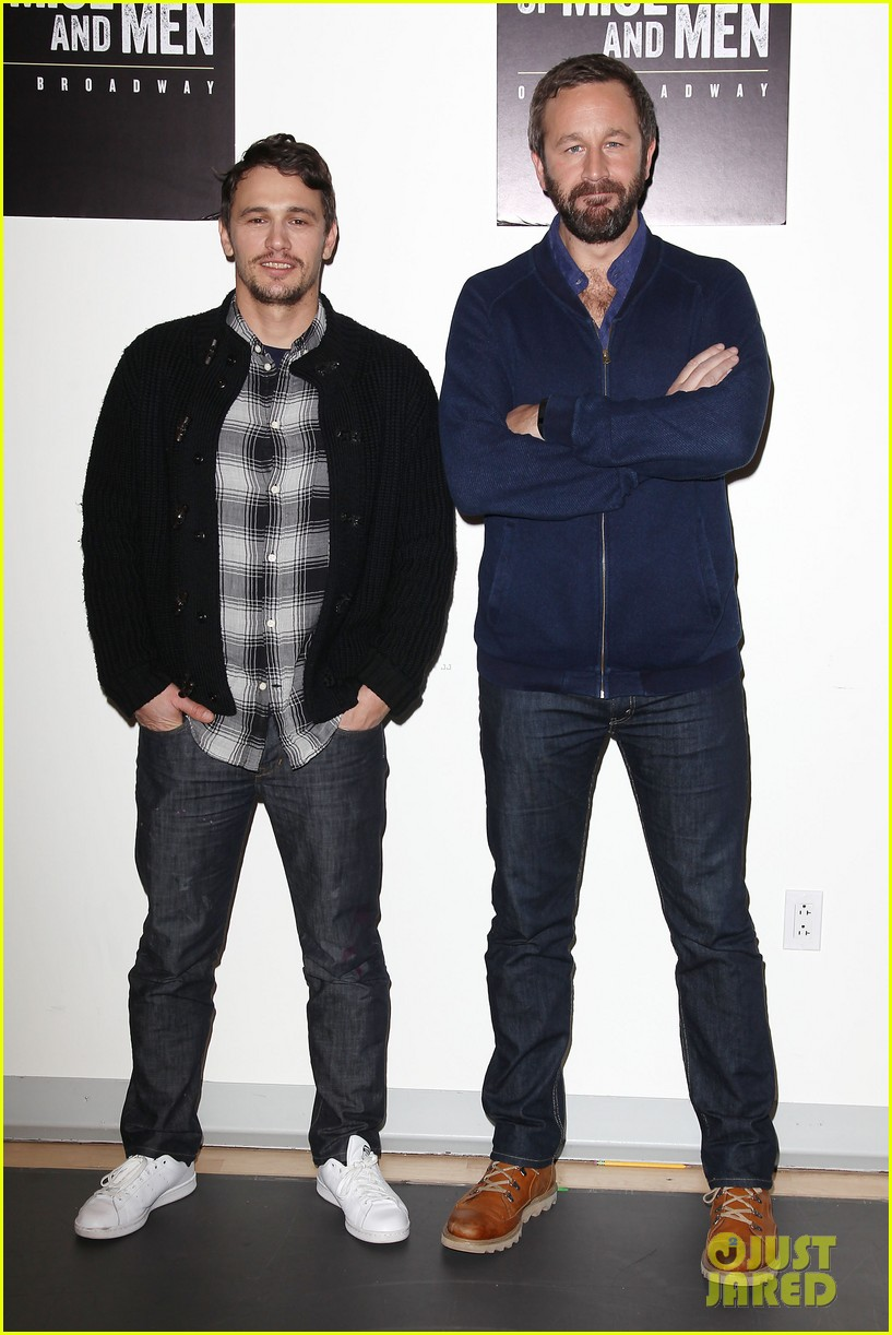 leighton meester james franco of mice men broadway preview 083067166