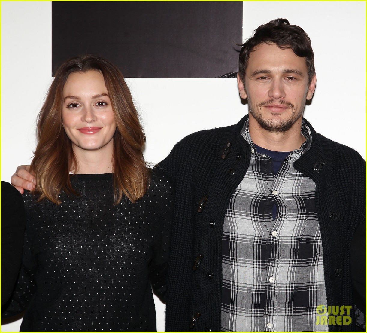 leighton meester james franco of mice men broadway preview 153067173