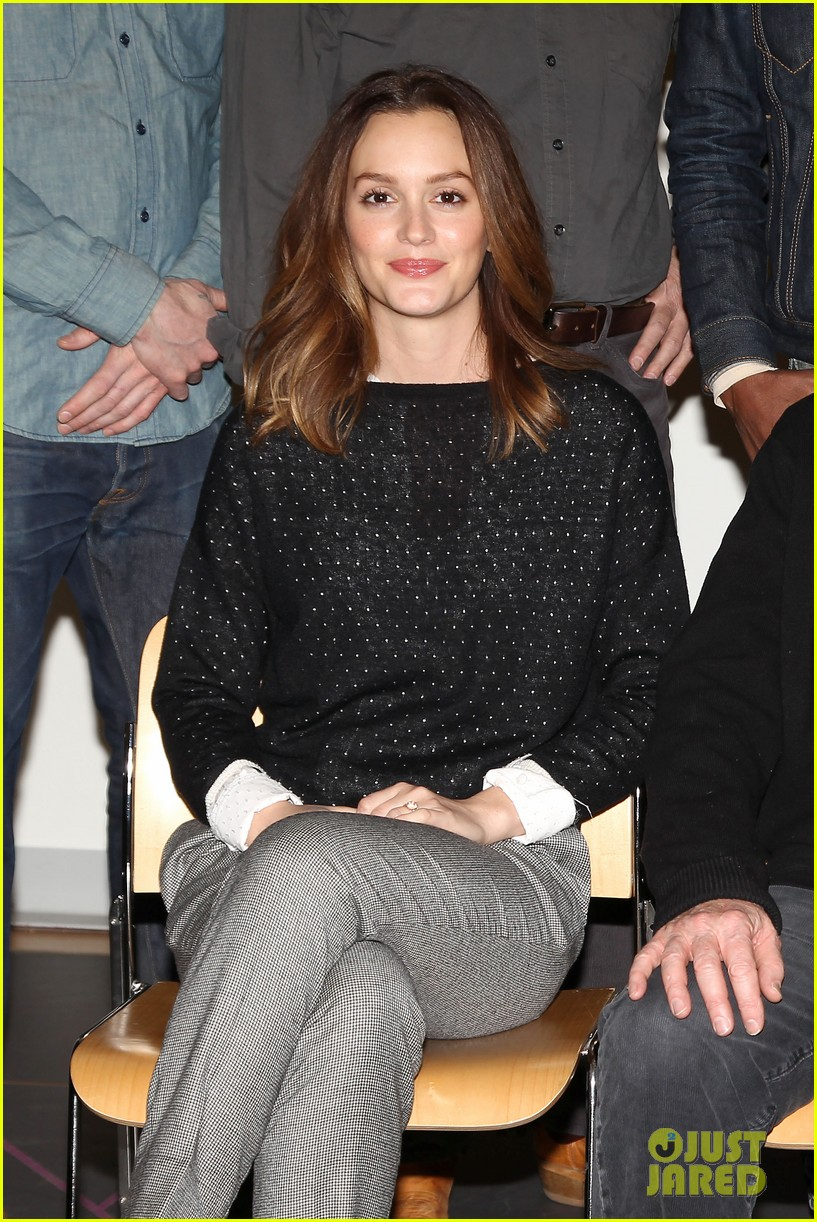 leighton meester james franco of mice men broadway preview 18