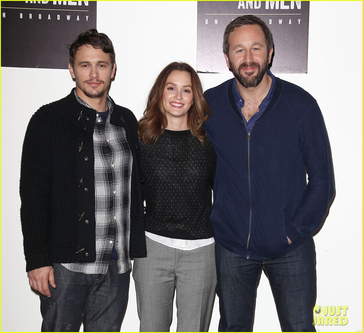 leighton meester james franco of mice men broadway preview 193067177