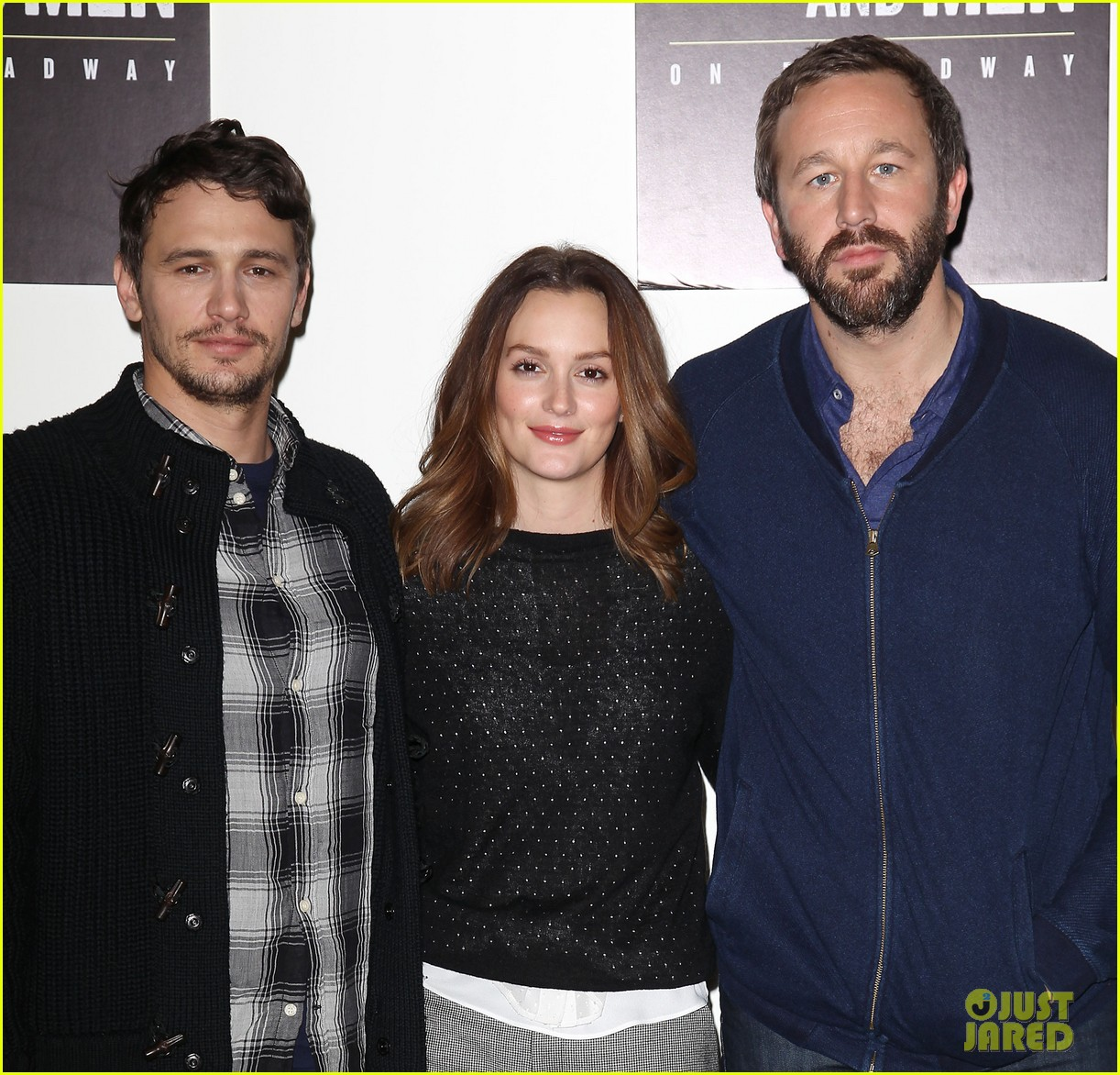 leighton meester james franco of mice men broadway preview 213067179
