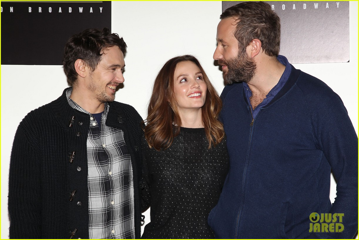 leighton meester james franco of mice men broadway preview 263067184