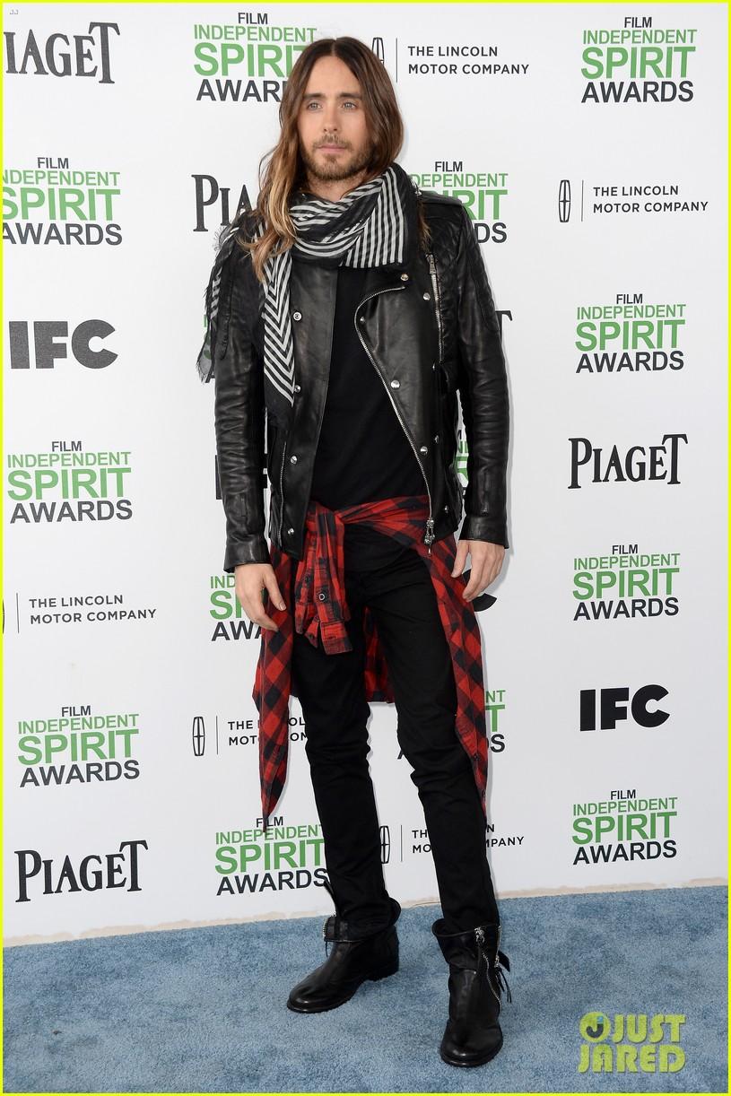 jared leto thanks future ex wife lupita nyongo at independent spirit awards 2014 053062959