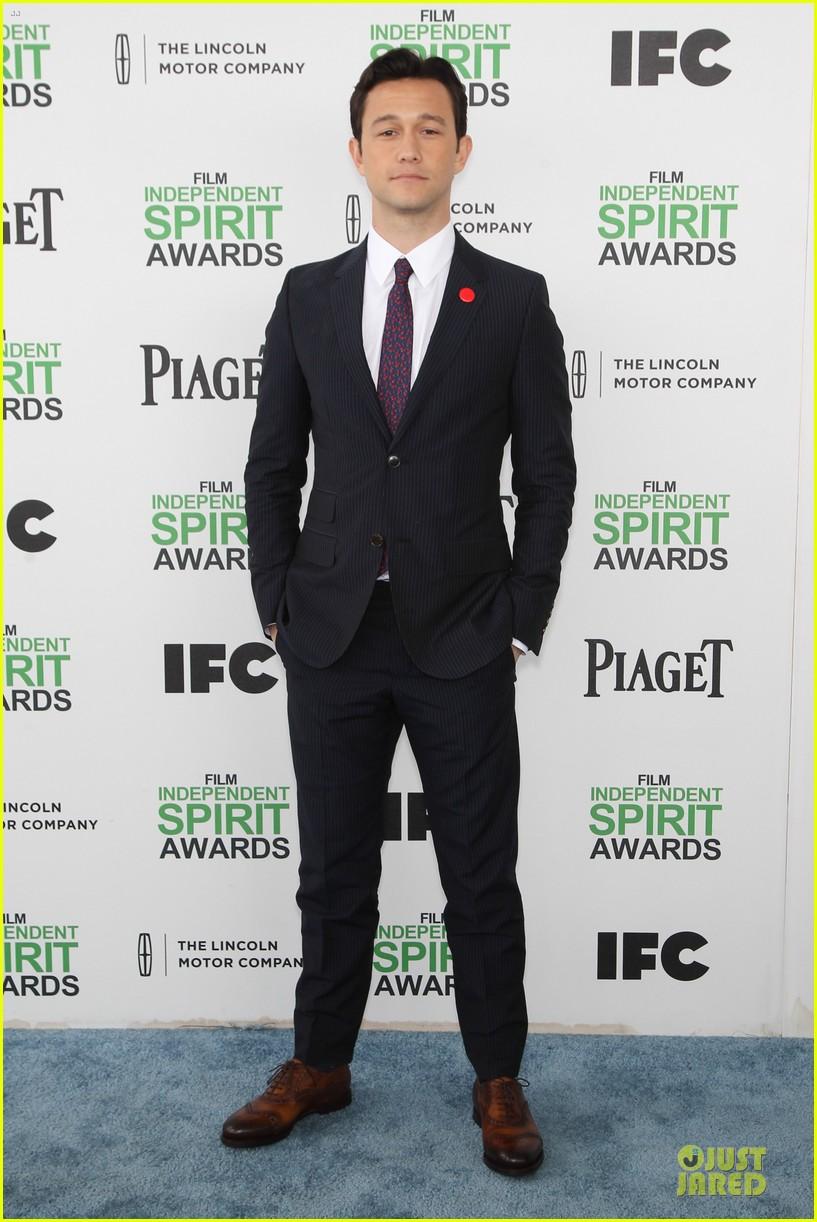 joseph gordon levitt michael sheen man power at independent spirit awards 2014 013063026