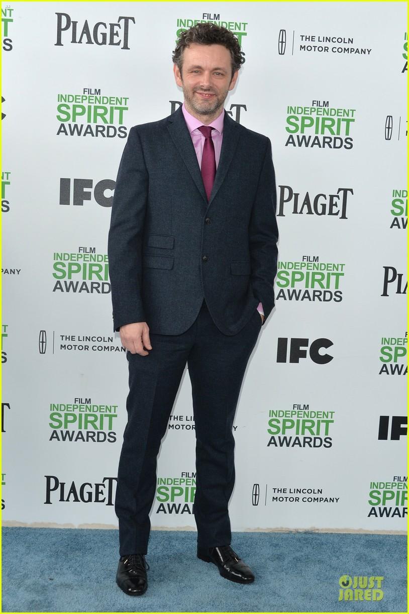 joseph gordon levitt michael sheen man power at independent spirit awards 2014 053063030