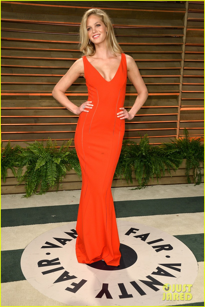 lily aldridge vanity fair oscars party erin heatherton 2014 023064859