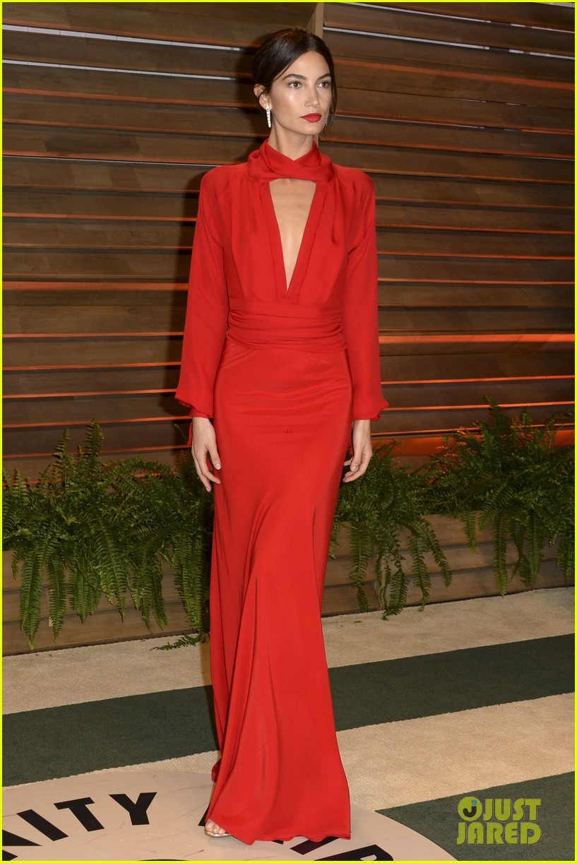 lily aldridge vanity fair oscars party erin heatherton 2014 033064860