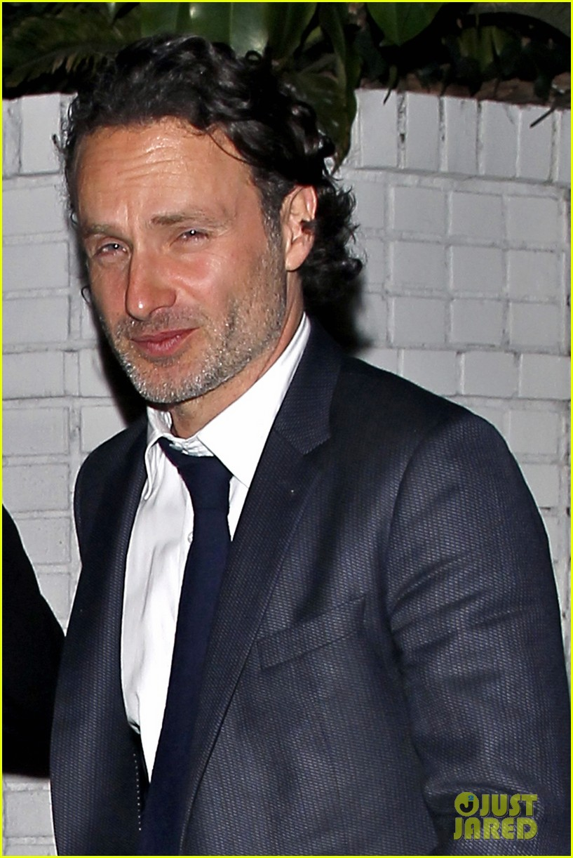 andrew lincoln steps out after violent walking dead finale 073082145