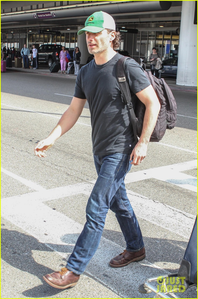 andrew lincoln steps out after violent walking dead finale 183082156
