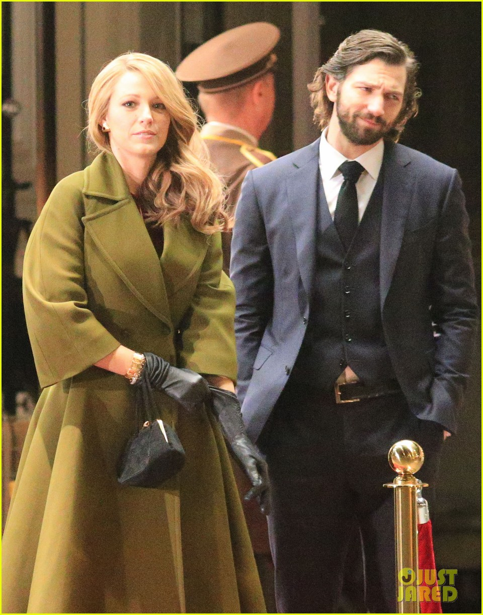 blake lively joins michiel huisman on set for age of adaline 033075263