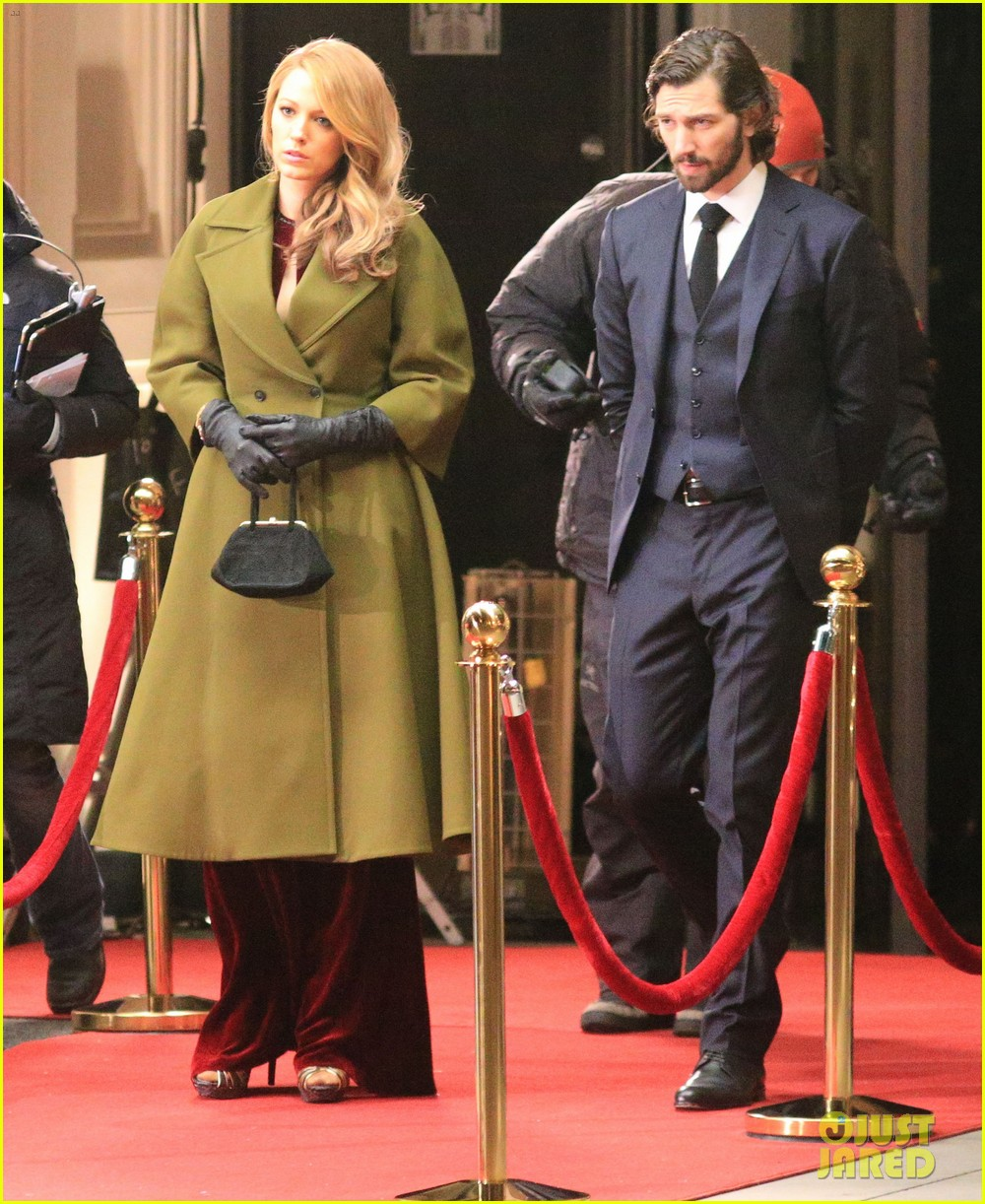 blake lively joins michiel huisman on set for age of adaline 053075265