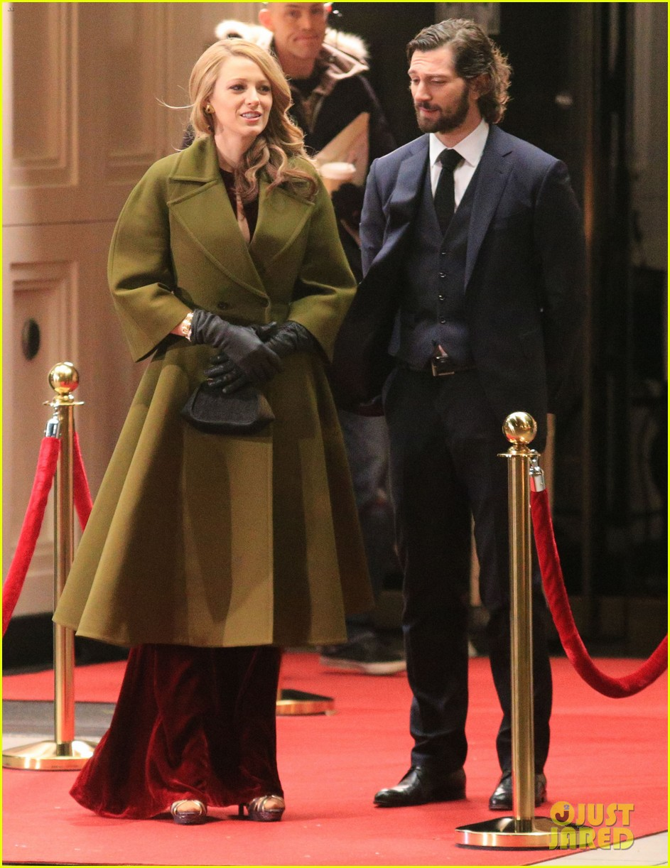 blake lively joins michiel huisman on set for age of adaline 063075266