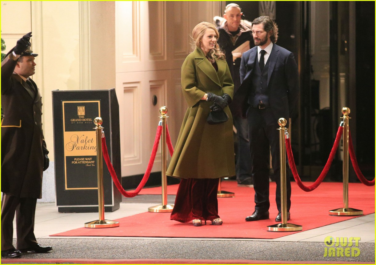 blake lively joins michiel huisman on set for age of adaline 073075267