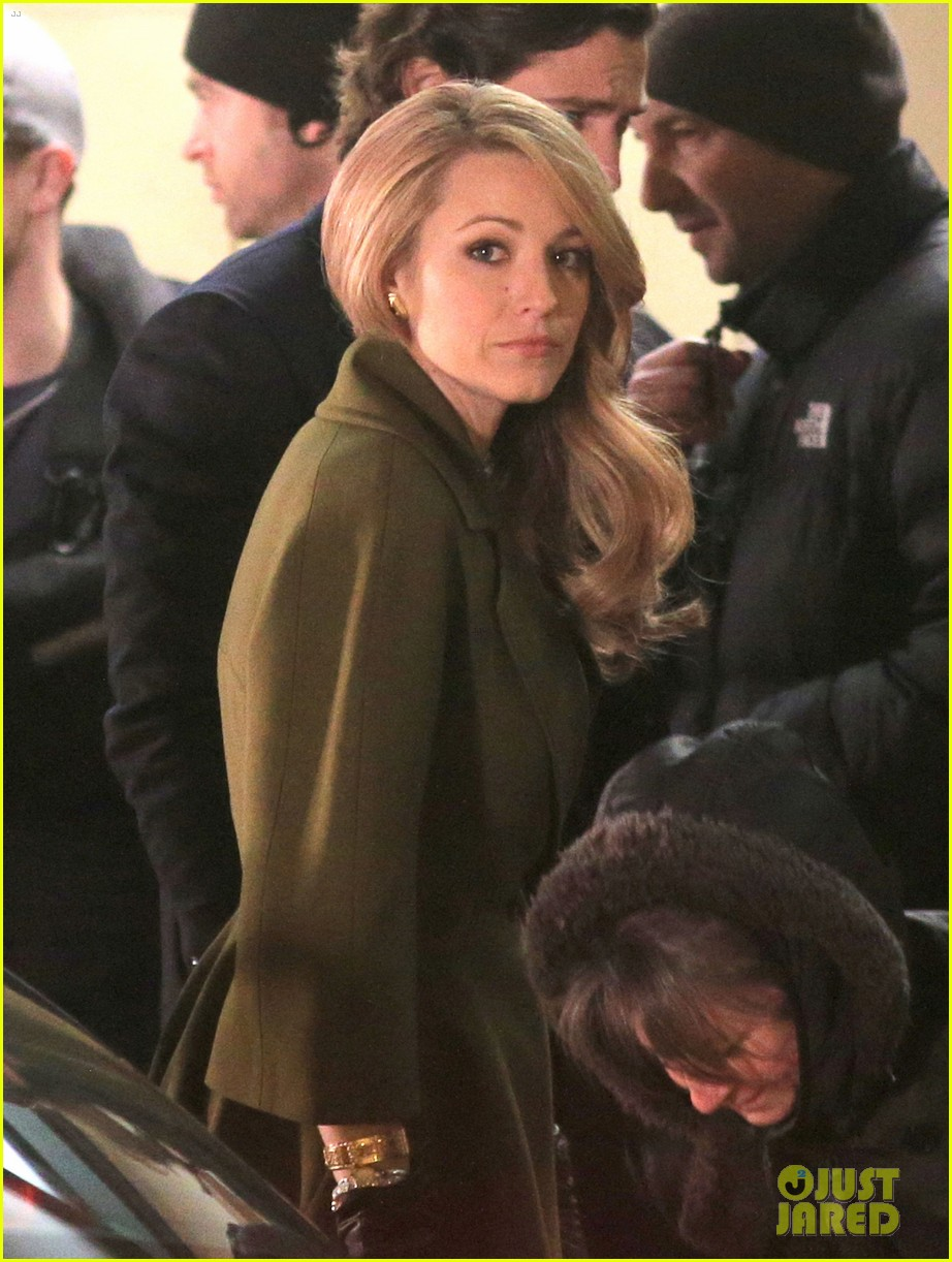 blake lively joins michiel huisman on set for age of adaline 09
