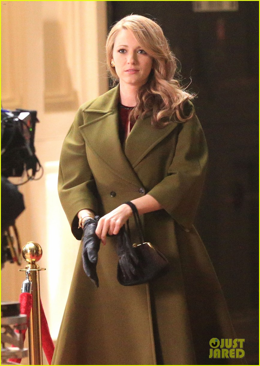 blake lively joins michiel huisman on set for age of adaline 113075271
