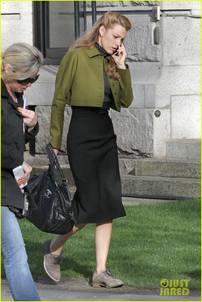 blake lively joins michiel huisman on set for age of adaline 133075273