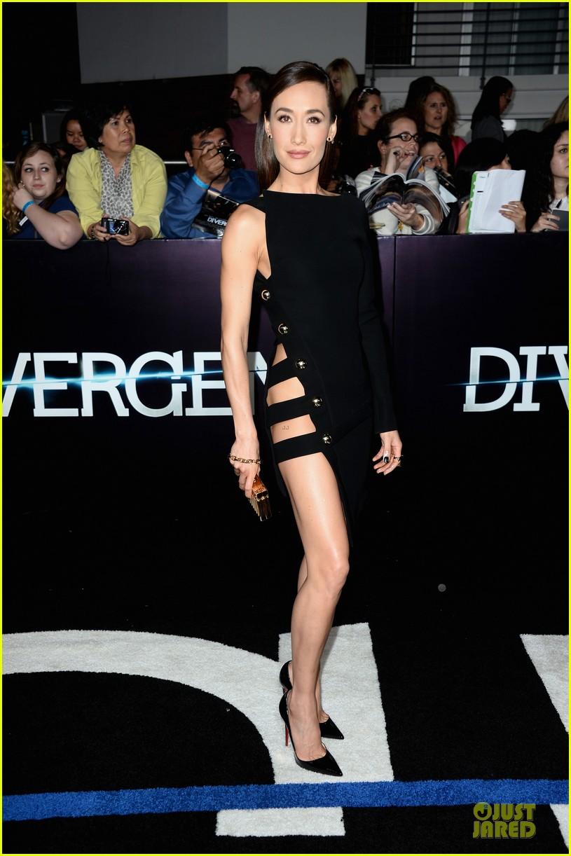 maggie q wears no underwear divergent premiere 033074464