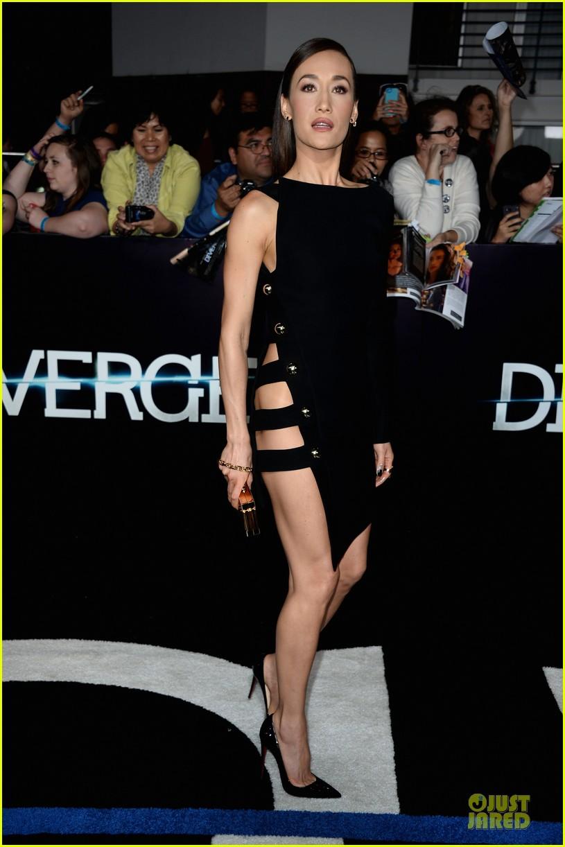 maggie q wears no underwear divergent premiere 06