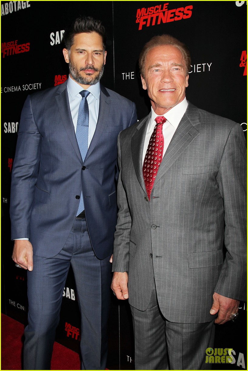 joe manganiello childhood hero arnold schwarzenegger 19