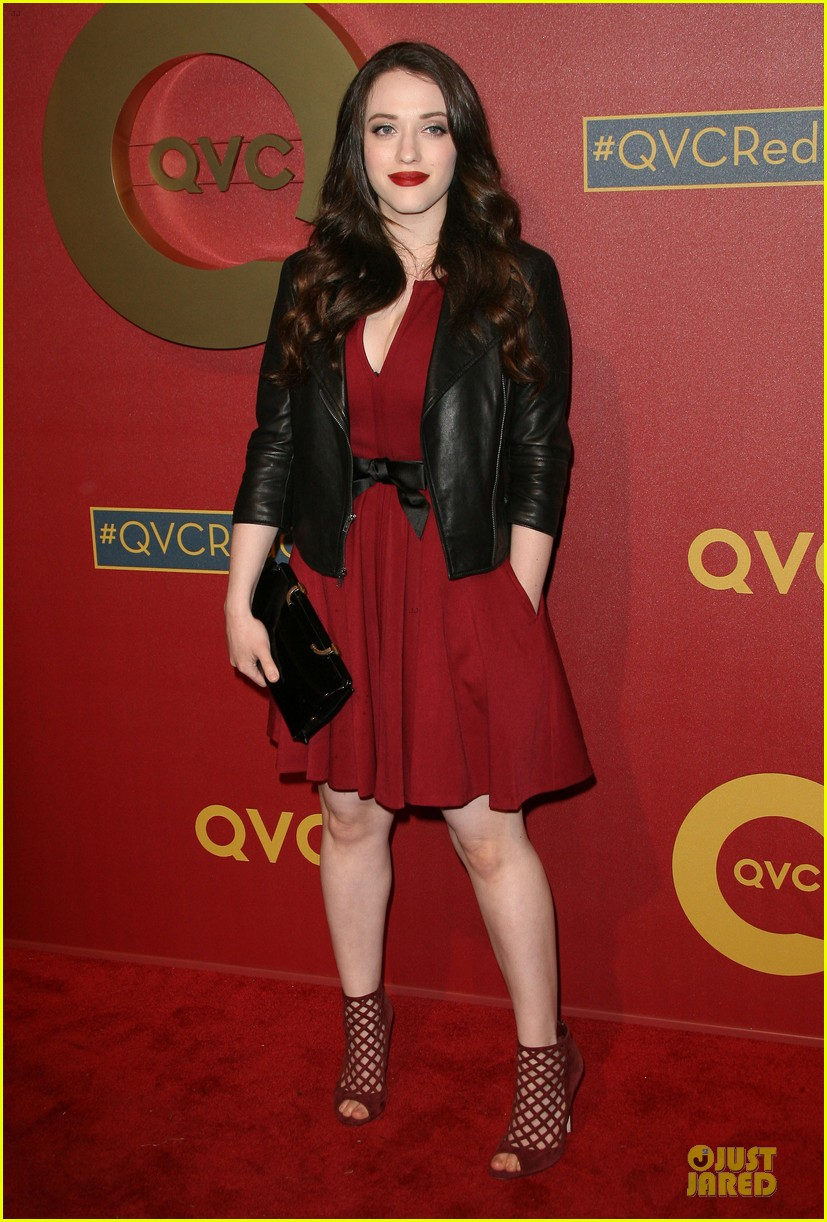 kate mara kat dennings qvc red carpet style event 213062765