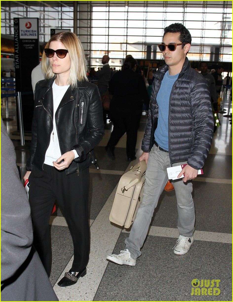 kate mara max minghella jet out of los angeles 033066060