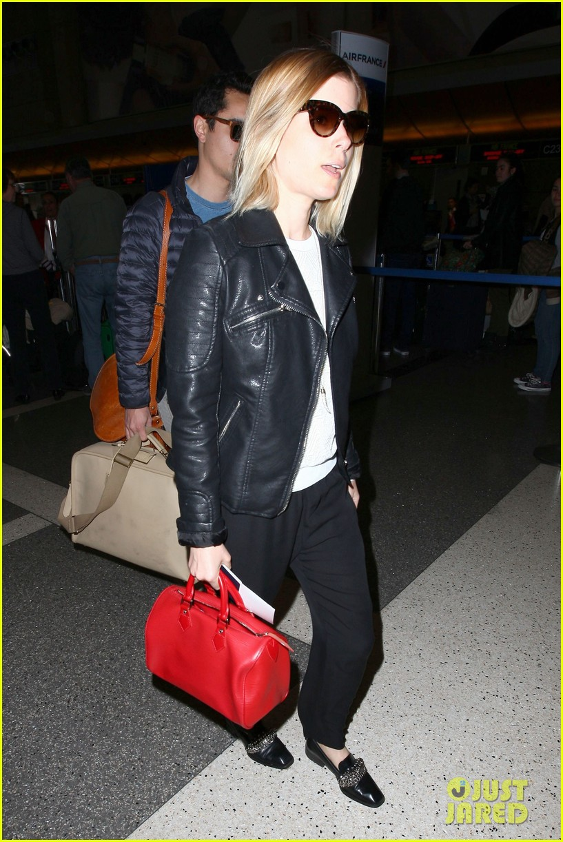 kate mara max minghella jet out of los angeles 053066062
