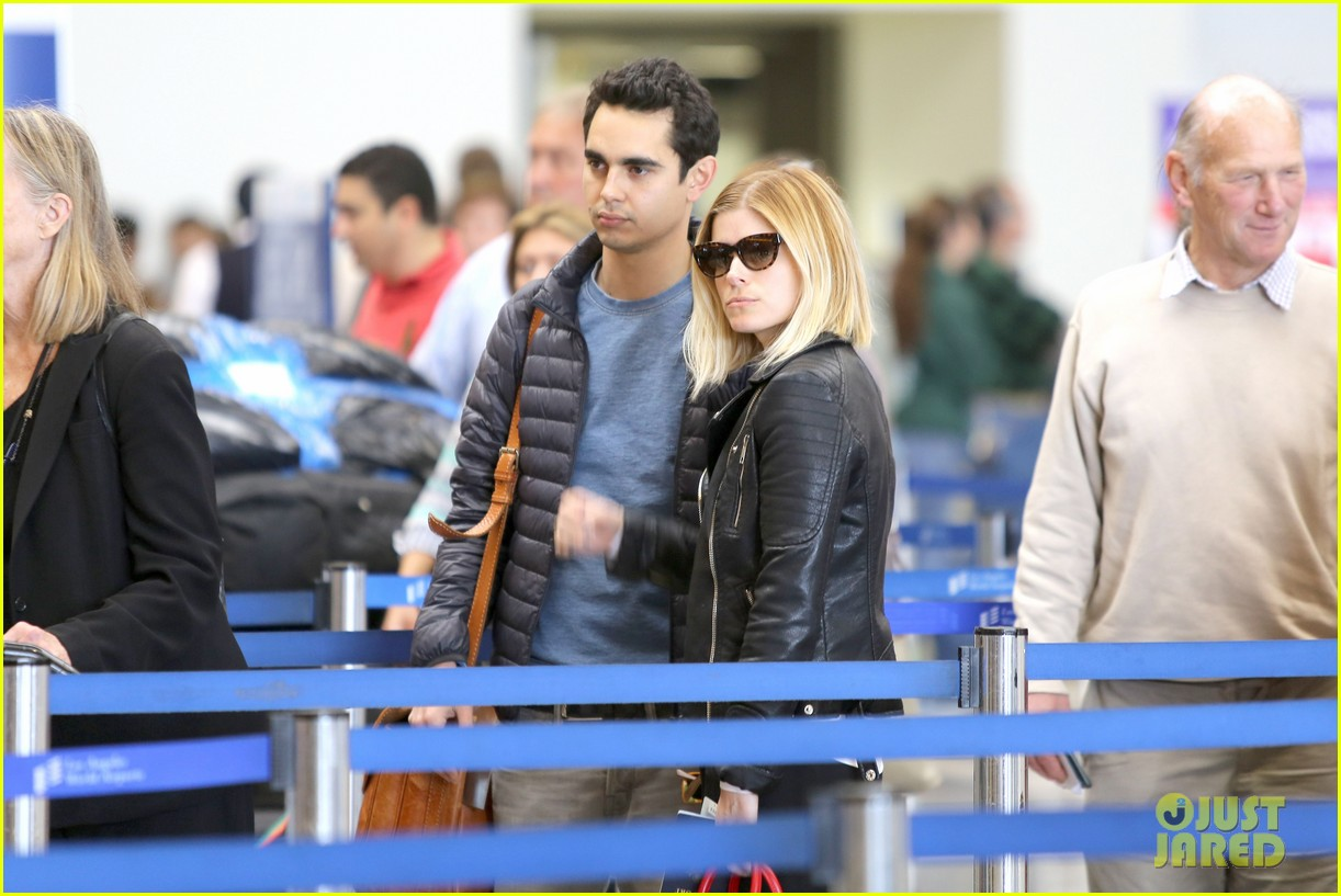 kate mara max minghella jet out of los angeles 073066064