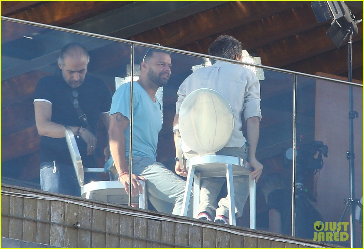 ricky martin films music video for world cup 303070340