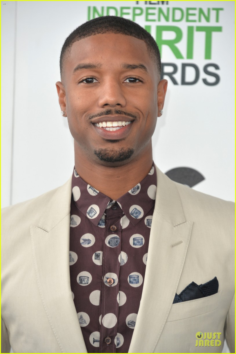 michael b jordan melonie diaz nominees at independent spirit awards 2014 023062948