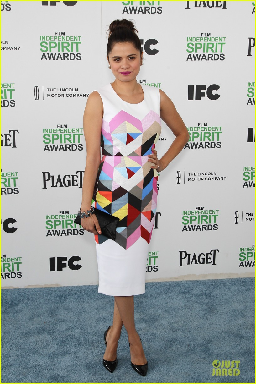 michael b jordan melonie diaz nominees at independent spirit awards 2014 033062949