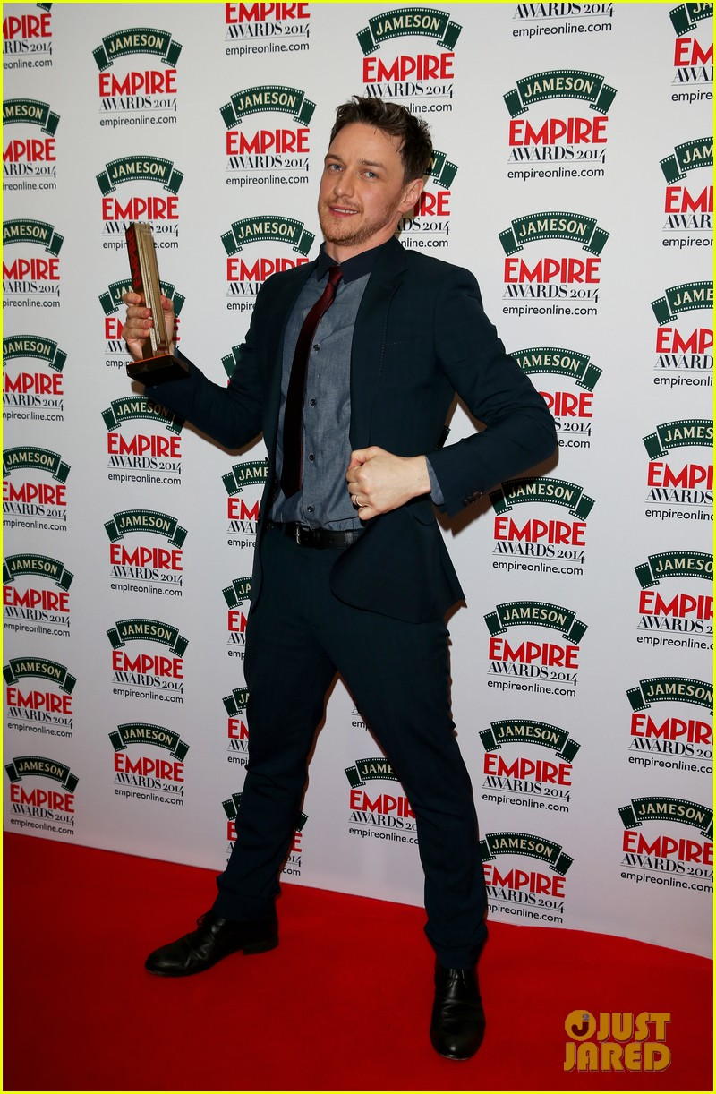 james mcavoy wins best actor at jameson empire awards 2014 053081856