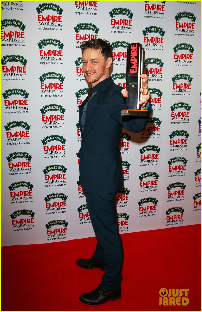 james mcavoy wins best actor at jameson empire awards 2014 063081857