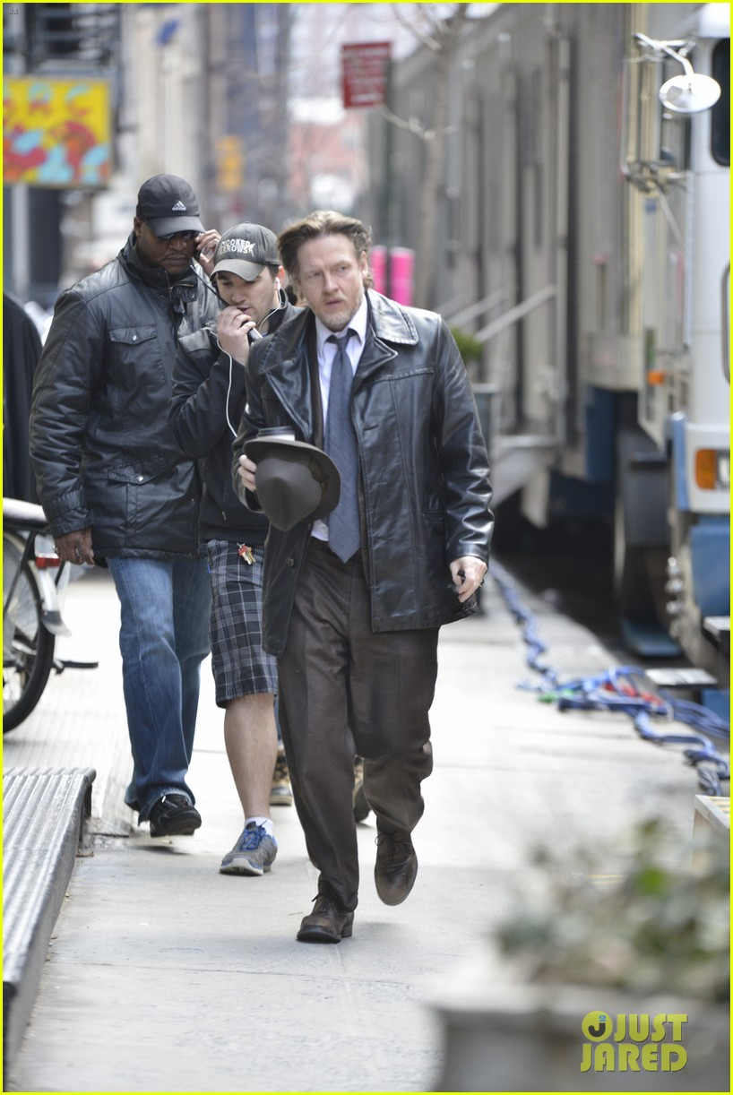 ben mckenzie donal logue gotham fight scene 103075866