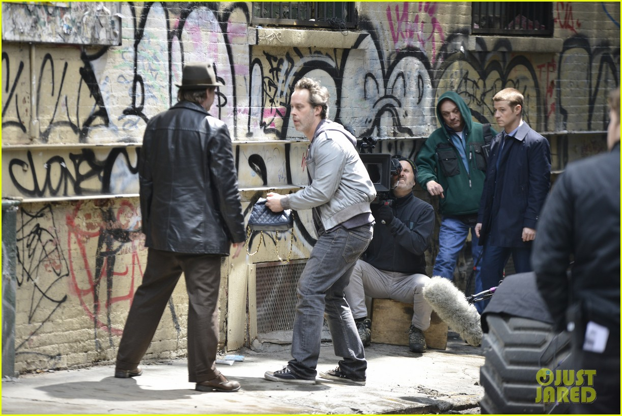 ben mckenzie donal logue gotham fight scene 193075875