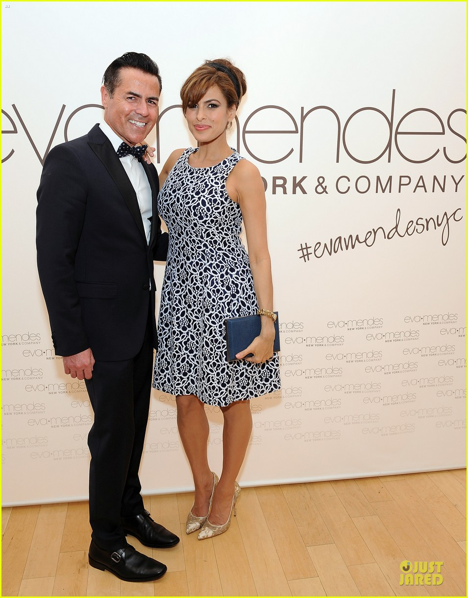 eva mendes new york company collection launch 013074501