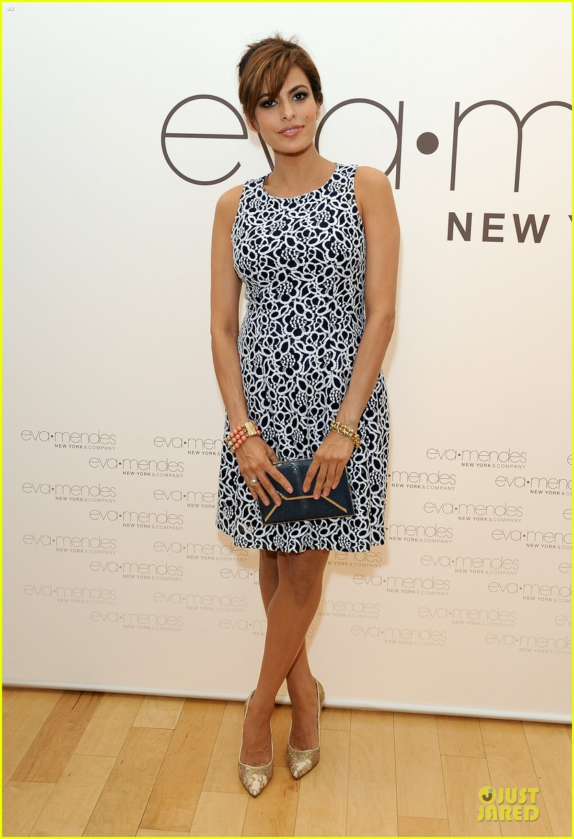 eva mendes new york company collection launch 053074505