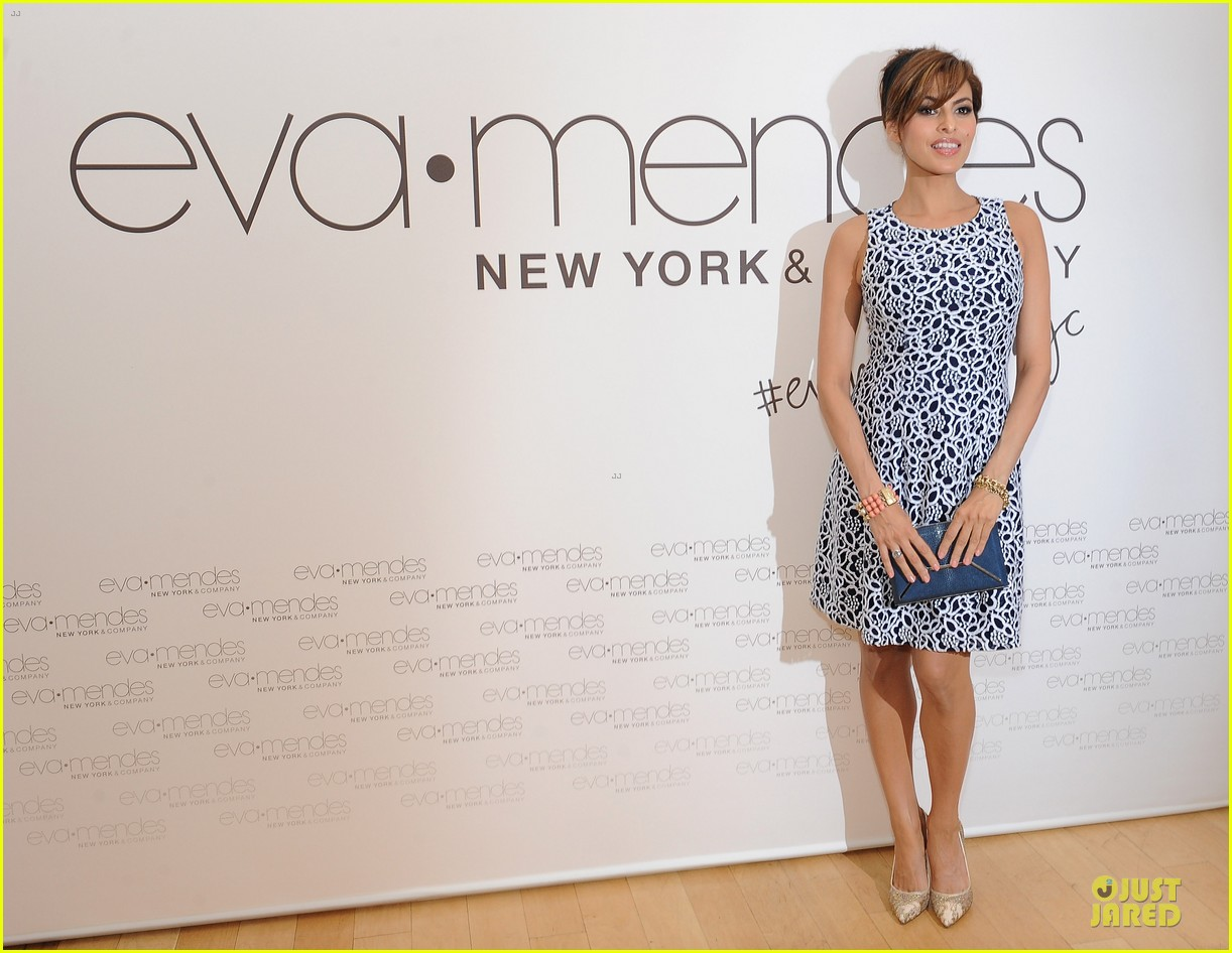 eva mendes new york company collection launch 063074506