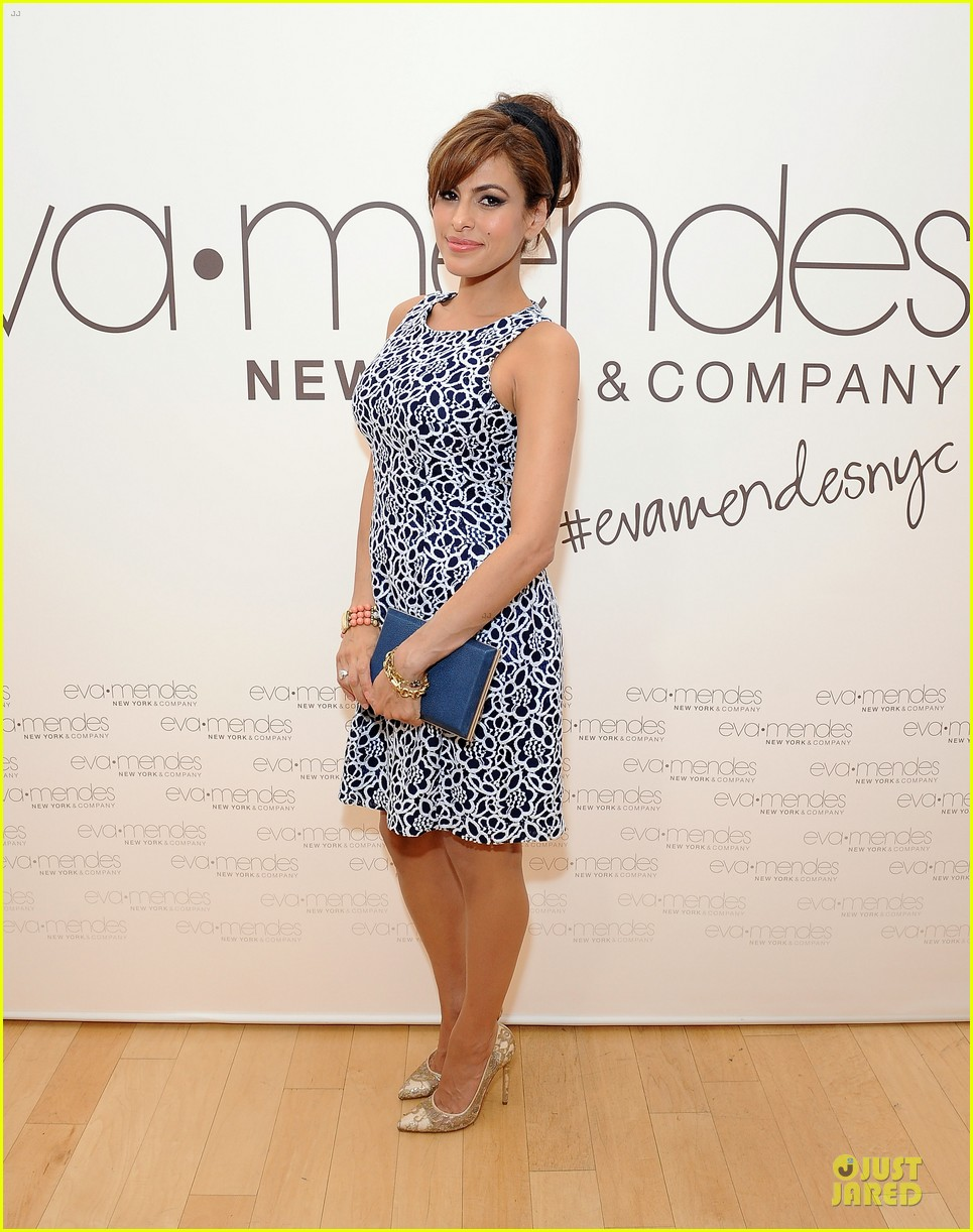 eva mendes new york company collection launch 073074507