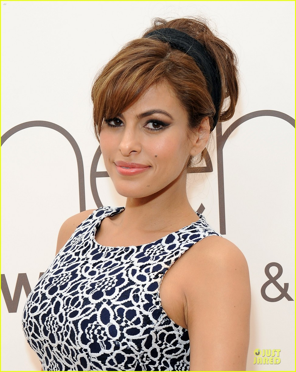 eva mendes new york company collection launch 093074509