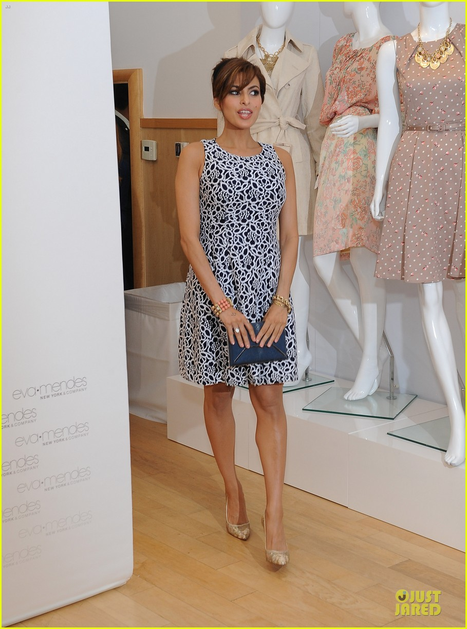 eva mendes new york company collection launch 103074510