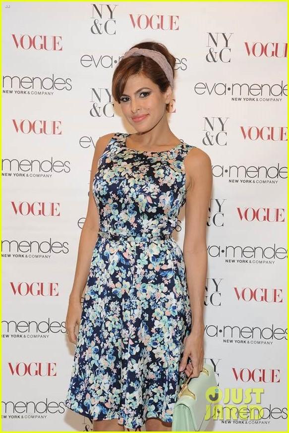 eva mendes designed her prom dress 023075589
