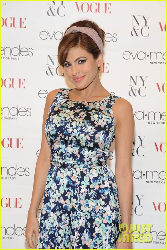 eva mendes designed her prom dress 043075591