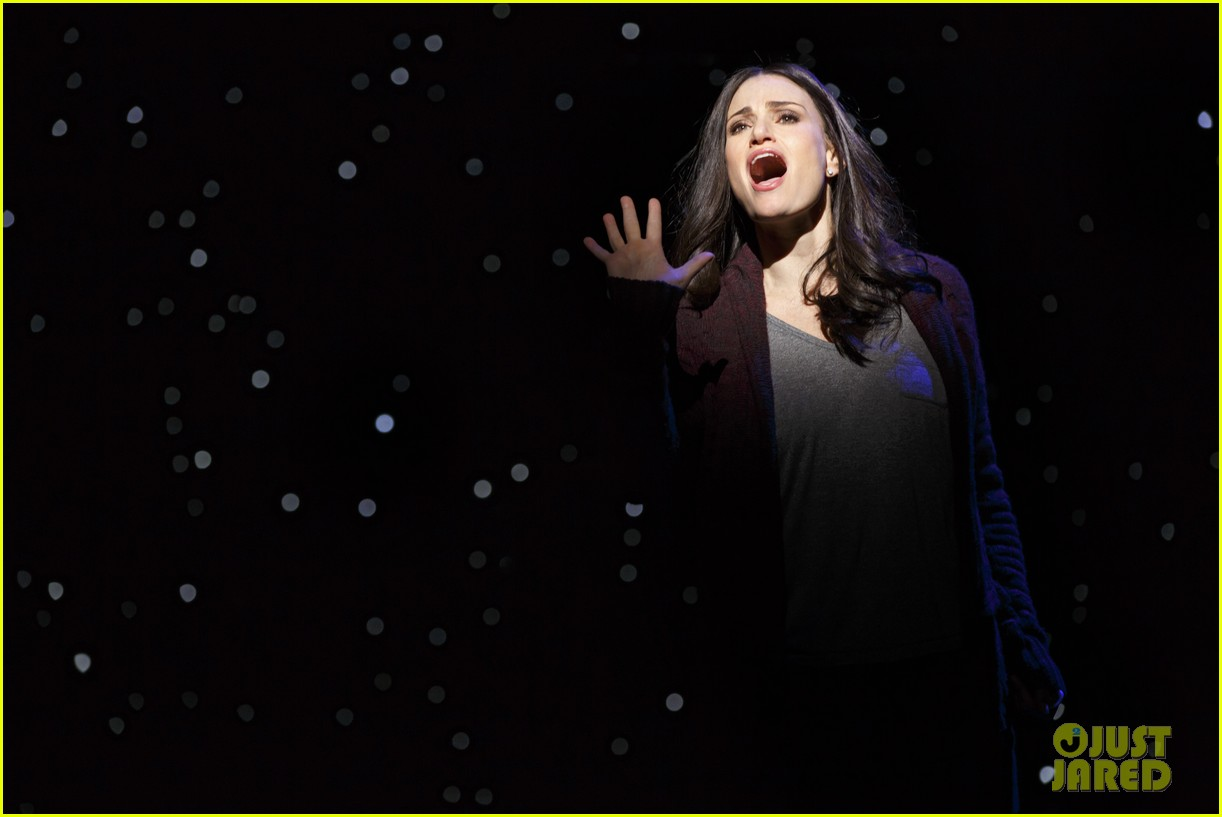 idina menzel if then broadway photos video 043081613