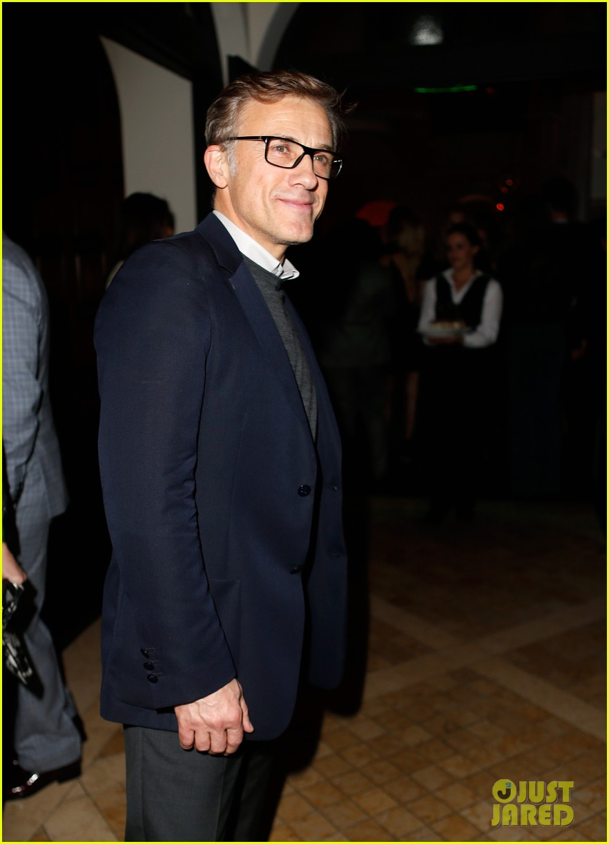 meryl streep christoph waltz pre oscars party attendees 043063620