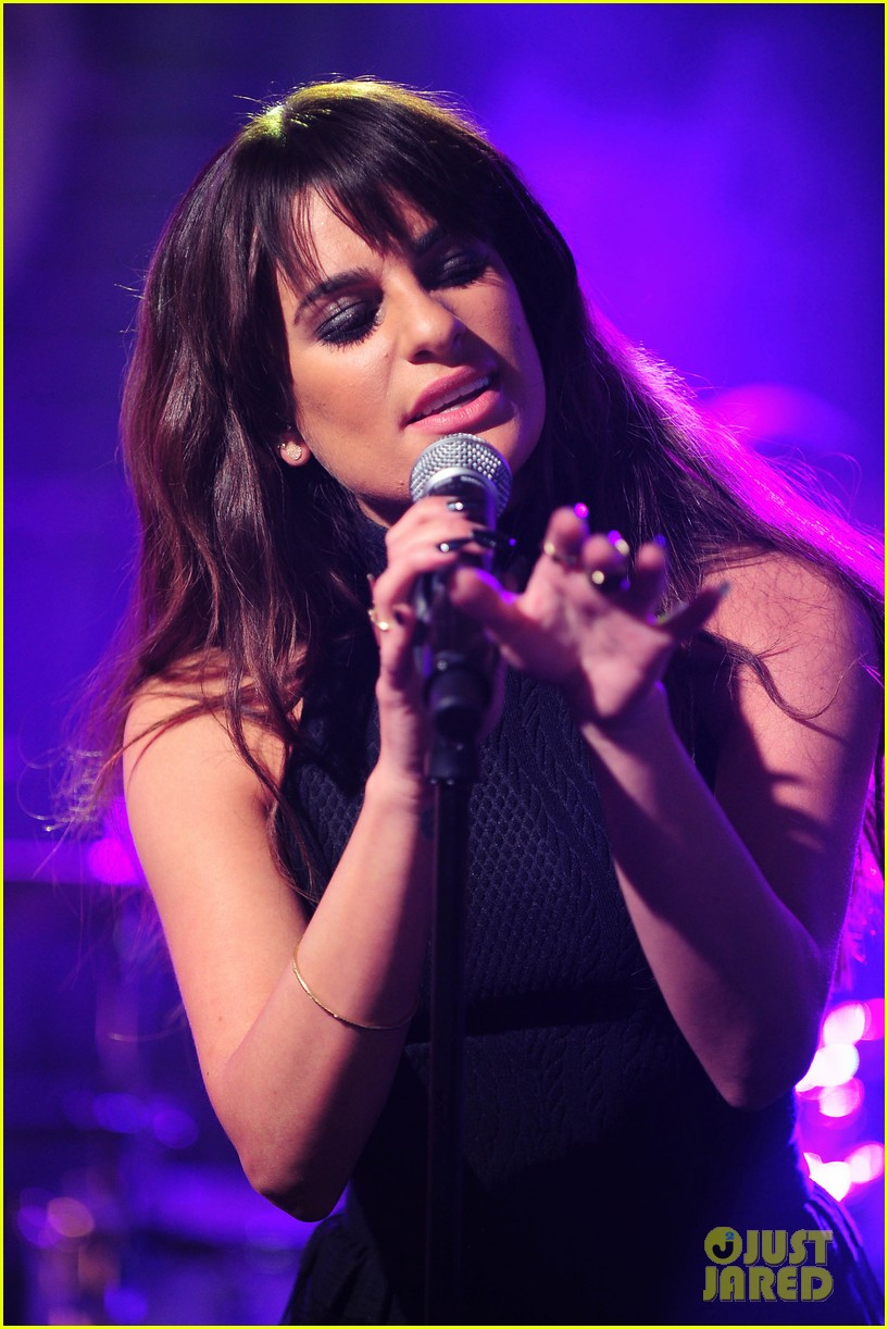 lea michele big morning buzz with nick lachey 02