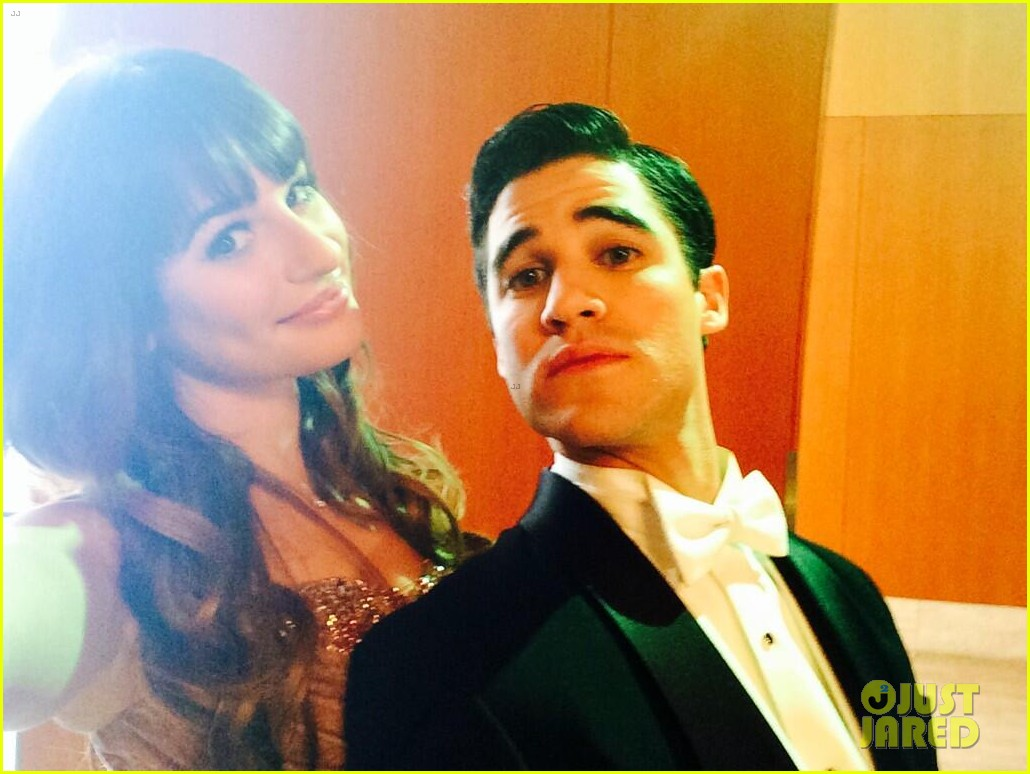 lea michele darren criss classic broadway number glee 043079873