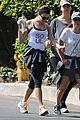 lea michele feeds soul with hike 06