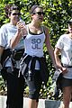 lea michele feeds soul with hike 07