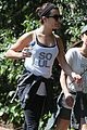 lea michele feeds soul with hike 10