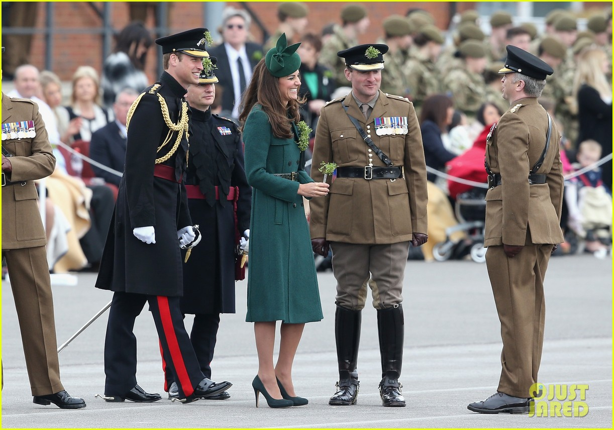 kate middleton prince william st patricks day parade 083073286